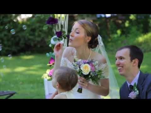 A beautiful Wedding Ceremony at The Vrooman Mansion