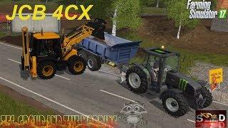 FS17 Test JCB 4CX et travaux au lotissement !