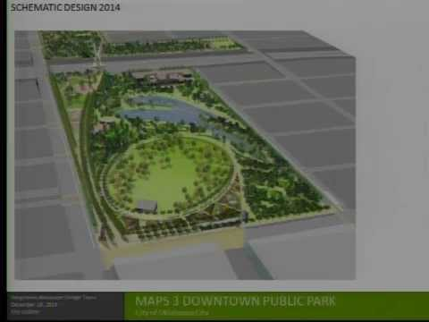Oklahoma City MAPS 3 Downtown Park Update