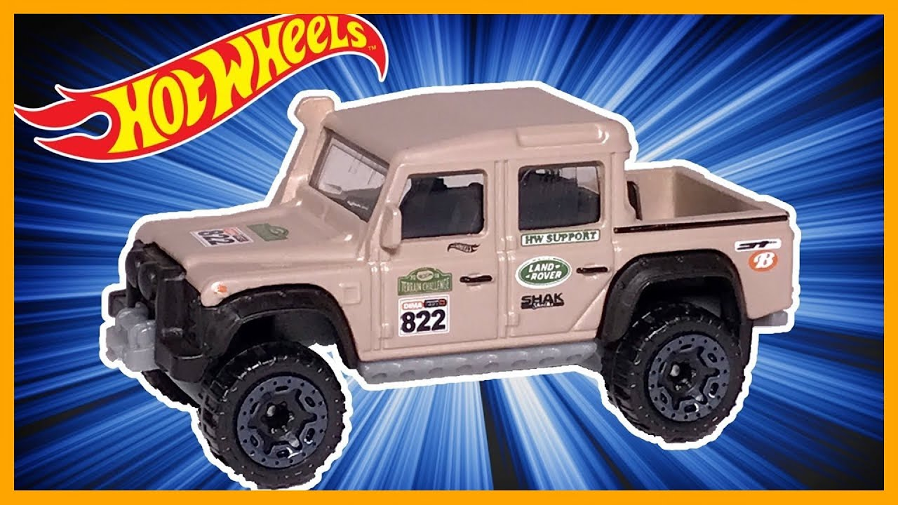 HOT WHEELS '15 LAND ROVER DOUBLE CAB REVIEW - YouTube