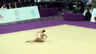 Сабина Аширбаева, Казахстан, булавы. Гран-При 2016