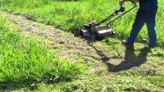 Profesjonalna kosiarka Kaaz LM 5360 - koszenie wysokiej trawy