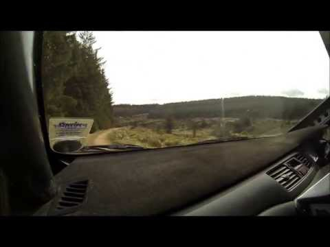 Quintin Milne Martin Forrest Granite City Rally 2013 Highlights