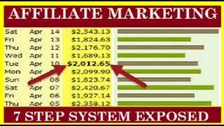 affiliate marketing for beginners 7 step system exposed 400 800 daily
