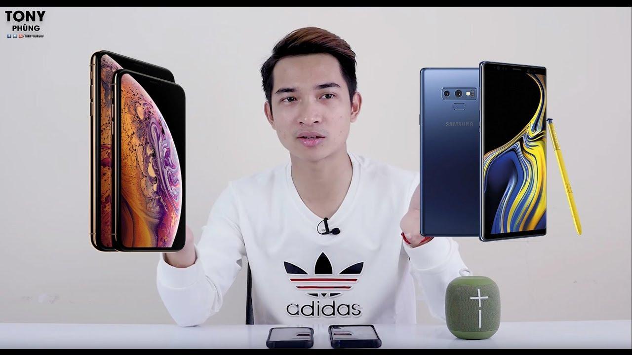 Apple iPhone XS Max tốt - Nhưng khi so với Samsung Galaxy Note 9? Hmm!