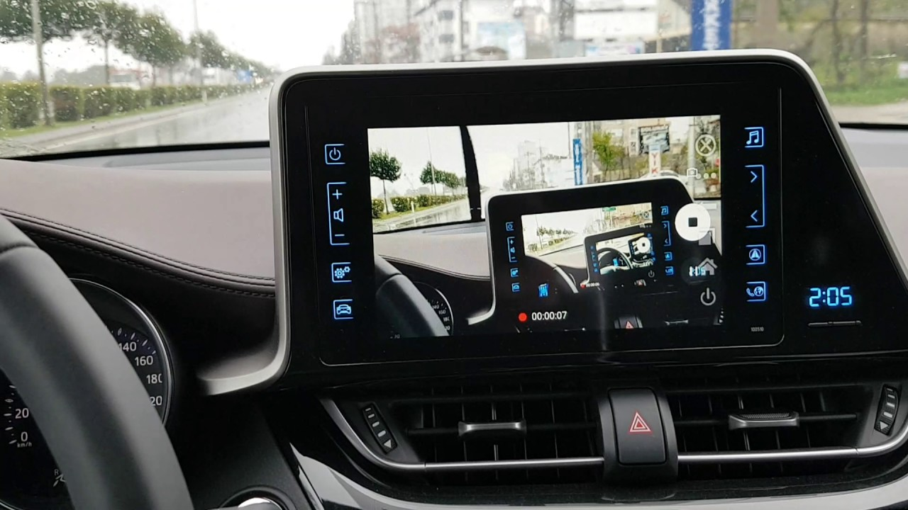toyota c hr touch 2 mirrorlink s7 edge with other programe youtube. Black Bedroom Furniture Sets. Home Design Ideas