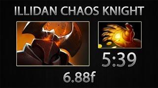 Dota 2 Chaos Knight Fast Farm - Illidan - Hand of Midas - 5:39 [6.88f]