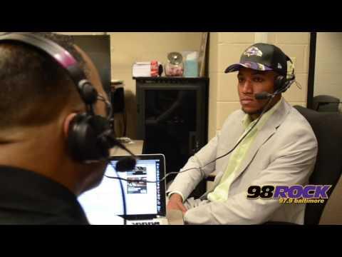 Kirk Talks To Ravens 2017 1st Round Draft Pick Marlon Humphrey