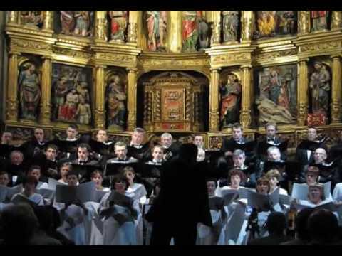 Christus factus est, de Lorenzo Ondarra, por el Orfeón Pamplonés