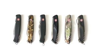 Сто складных ножей. Часть 13. Ножи Wenger Ranger(Представлена тринадцатая часть видео о сотне складных ножей моей коллекции под названием