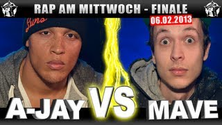 RAP AM MITTWOCH - A-Jay vs Mave 06.02.13 BattleMania Finale (4/4) GERMAN BATTLE
