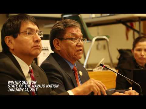 State of the Navajo Nation - 2017 Winter Session