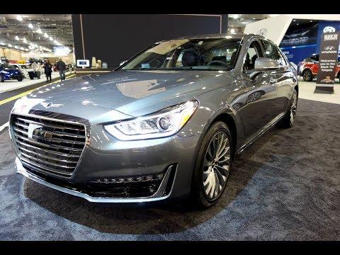 Genesis G90 Full Visual Interior Exterior Luxury Sedan Review