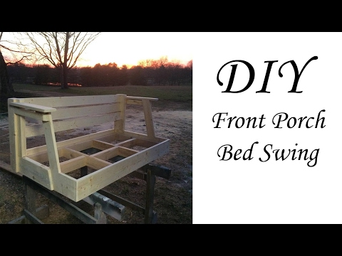 DIY bed swing  from $20 Crib Matress.