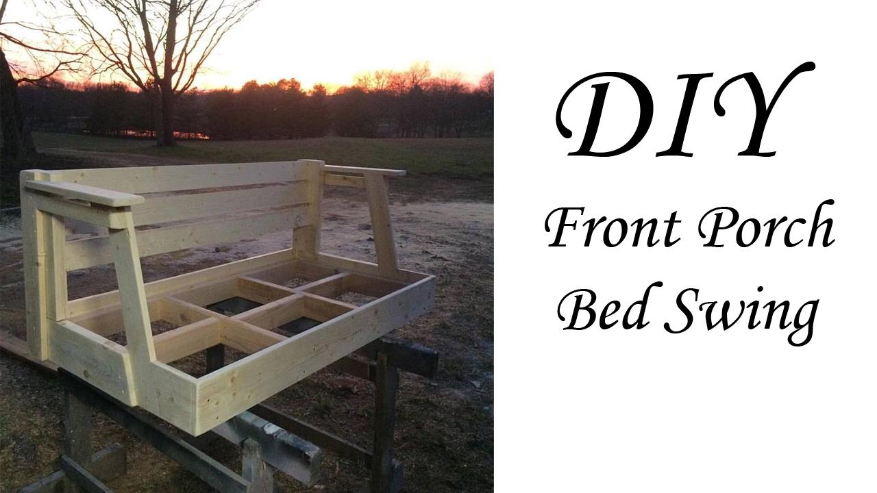 DIY bed swing from 20 Crib Matress