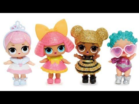 LOL детская кукла сюрприз в шаре обзор / Куколки ЛОЛ в шарике купить