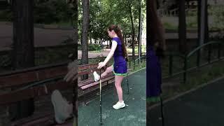 Упражнения для нижних конечностей с лавочкой от проекта Nordic-health