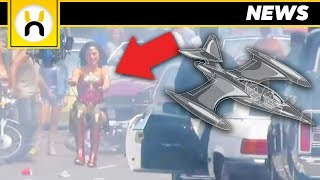 Invisible Jet LEAKED in Wonder Woman 1984 Set Video?