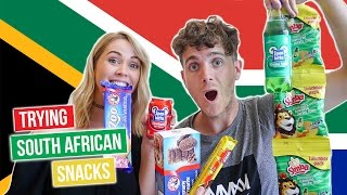 Australians try south african candy & snacks