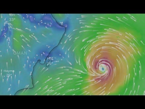 Oman  Cyclone hikaa  Update | latest cyclone news |
