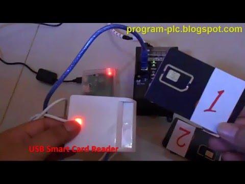 USB Smart Card Reader on Omron PLC USB using Raspberry Pi