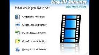 تحميل برنامج Easy GIF Animator و شرحه