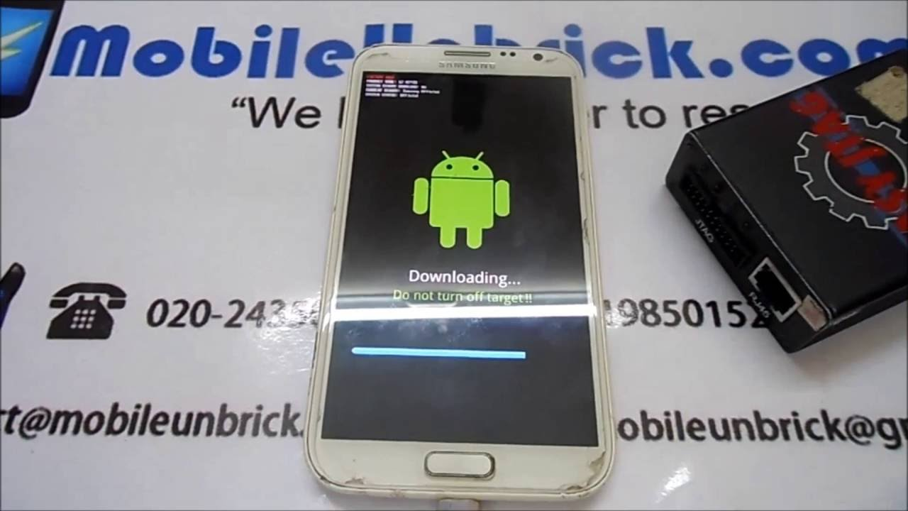 SAMSUNG NOTE II GT-N7100 UNBRICK/BRICK FIX/JTAG/ISP by Mobile Unbrick
