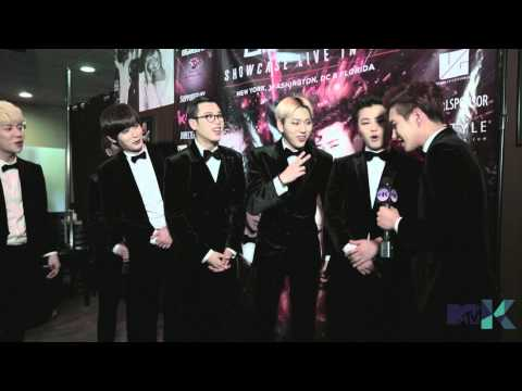 MTV K Exclusive: Block B's NY Showcase (Interview)