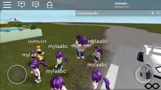 A ROBLOX game me and my brother made come join!