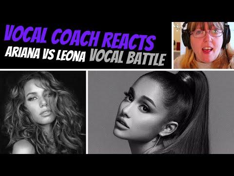 Vocal Coach Reacts to Ariana Grande Vs Leona Lewis