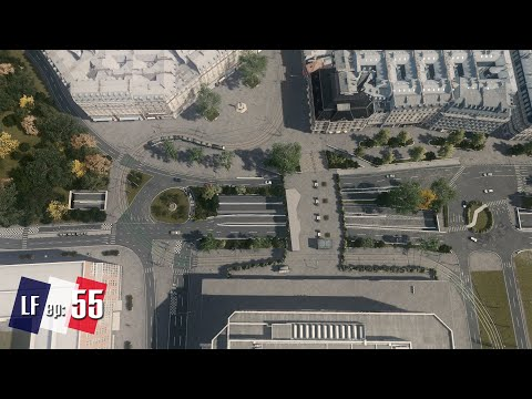 Cities Skylines: Little France -  Road Infrastructure from Orleans #55