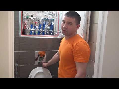 Капитальный ремонт в туалете и ванной. Нефтеюганск, Сургут.