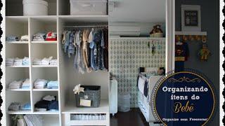 Dicas lá de casa: Organizando o armário, cômoda e demais itens do bebê Thumbnail