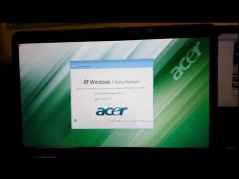 How to ║ Restore Reset a Acer Aspire to Factory Settings ║ Windows 7