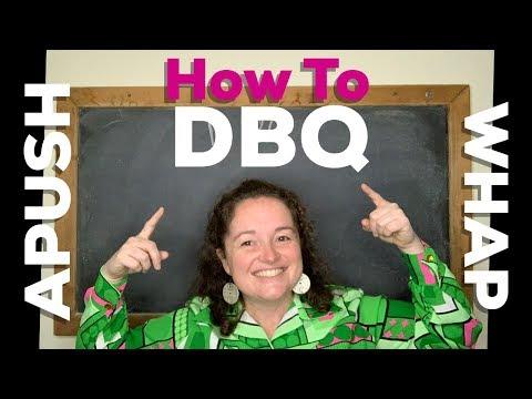 How to DBQ - APUSH & WHAP