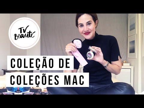 Minha coleção de coleções da MAC - TV Beauté   Vic Ceridono