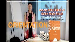 Online BABOK v3 Study Group Introduction