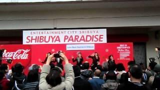 多国籍軍LOVE WORLD@2011渋谷パラダイス 渋谷ハチ公前特設ステージ ハー...