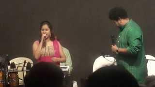Yeh Dil Tum Bin Kahin Lagta Nahi--Priyanka Singh & Srikant Narayan Live in Mumbai