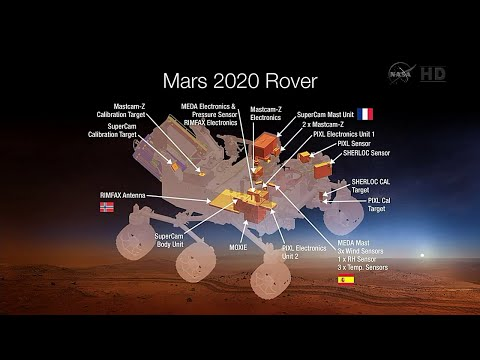 NASA Announces Mars 2020 Rover Payload to Explore the Red Planet as Never Before
