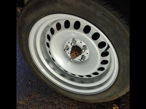 My VW T3/T25 Bus banded steel wheels