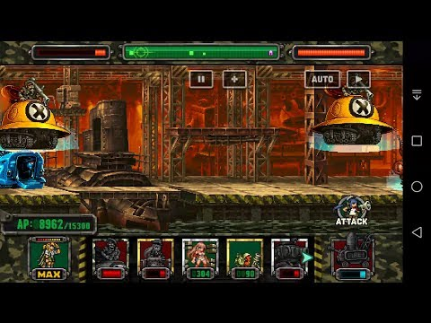 [HD]Metal Slug Attack UNITED FRONT - TESTING | GOLDEN MORDEN, CHLOE, CHRISTMAS NOVA (ver  2.18.1)