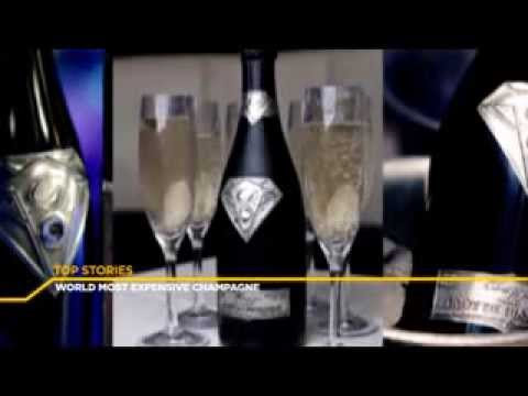 E-XTRA NEWS - WORLDS MOST EXPENSIVE CHAMPAGNE