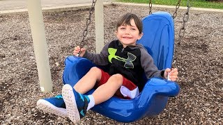Nursery Rhymes Song For Kids Outdoor Playground | Learn and Play with