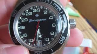 Командирские К  65 суточники обзор часов