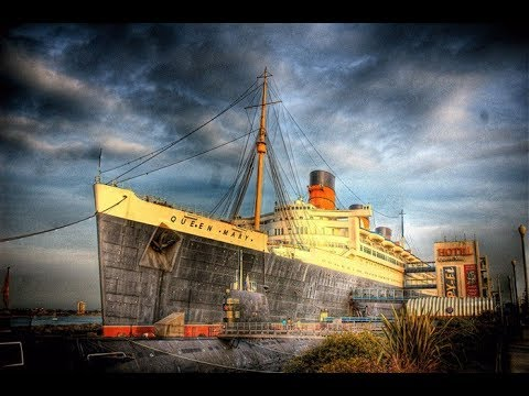 RMS Queen Mary (Overnight Challenge ) Most Haunted Ship in the World.