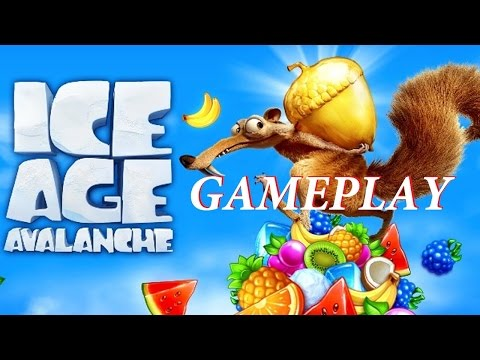 Ice Age: Arctic Blast Gameplay (iOS/Android) HD