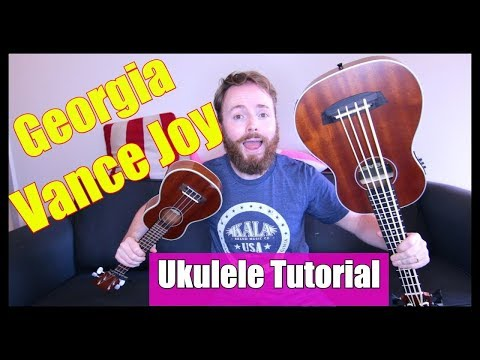 GEORGIA - VANCE JOY (UKULELE FINGERPICKING TUTORIAL)