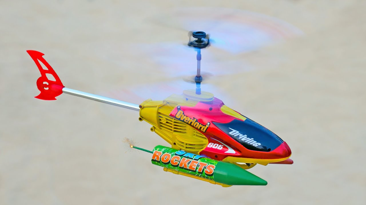 Rocket powered RC Helicopter