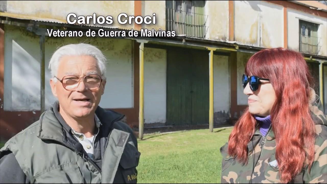 Nota con Carlos Croci sobre el Museo de Malvinas - Que Pasa TV